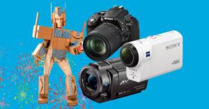 Amazon Prime Day 2018: tutte le fotocamere, le action cam e le videocamere in offerta