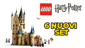 Lego annuncia sei nuovi set di Harry Potter
