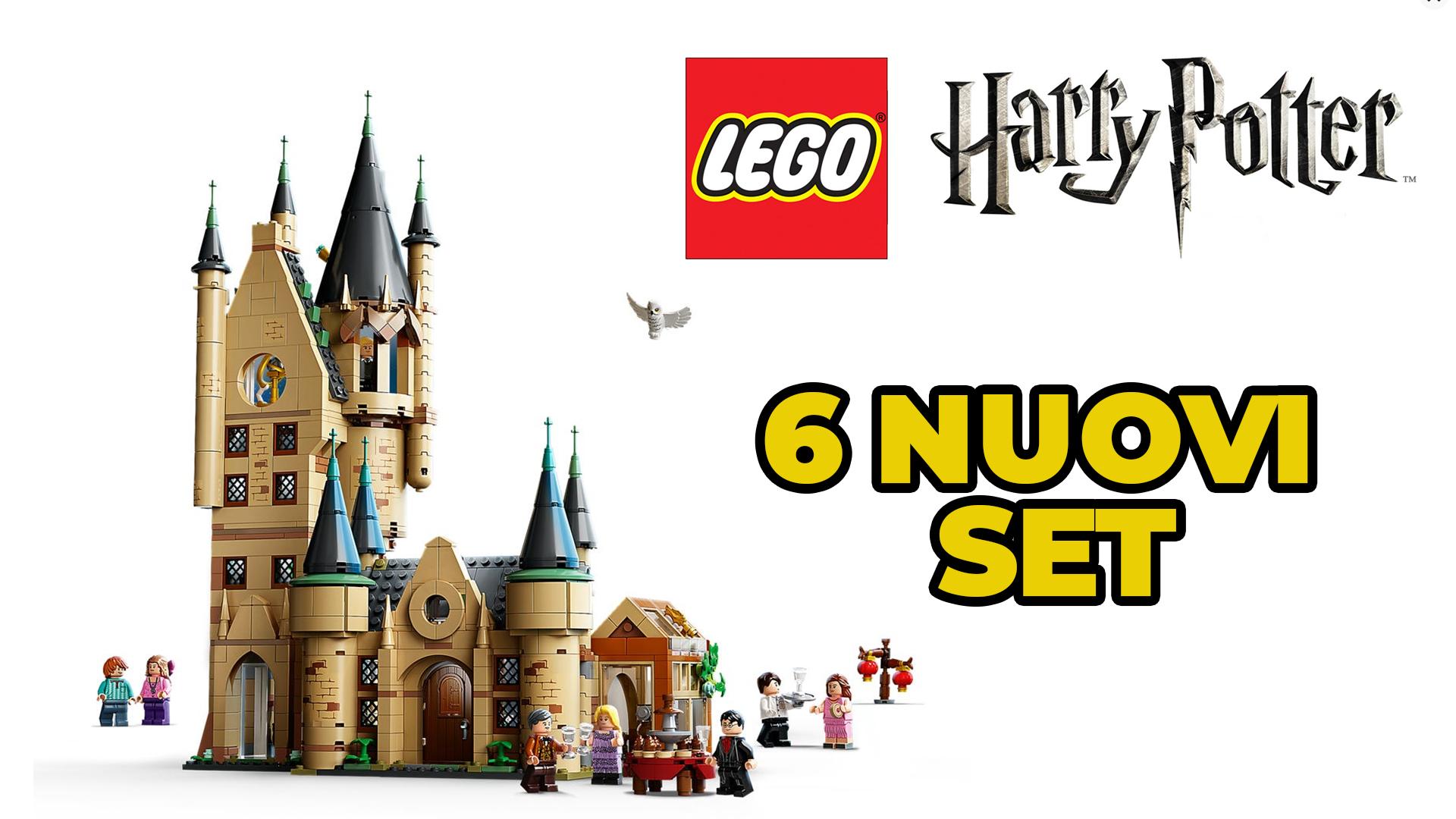 Lego annuncia sei nuovi set di Harry Potter