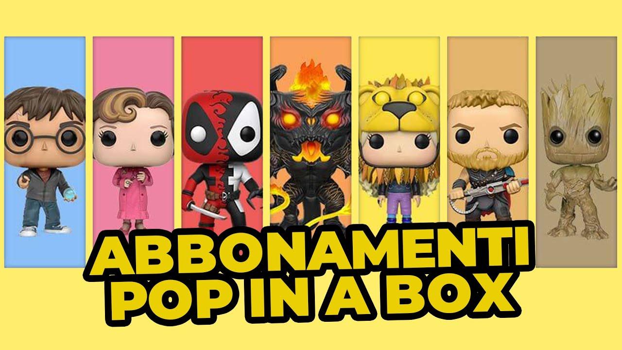 Pop In A Box: l'abbonamento per tutti gli amanti dei Funko