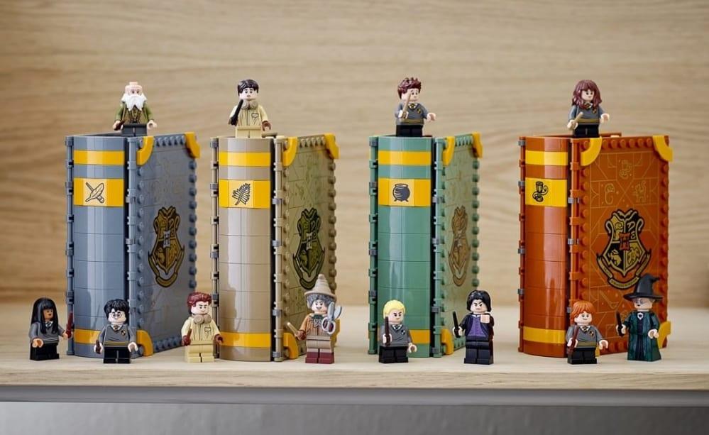 Lego Harry Potter: annunciati quattro nuovi set che da libro diventano stanze di Hogwarts!