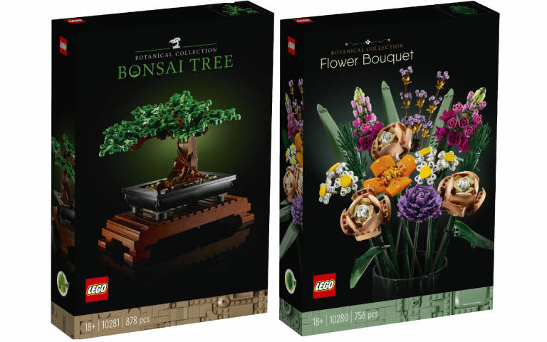 LEGO Botanical Collection: svelati i primi due set