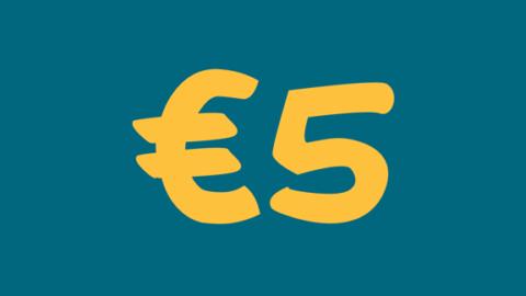 €5 di extra sconto