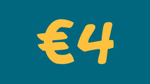 €4 di extra sconto