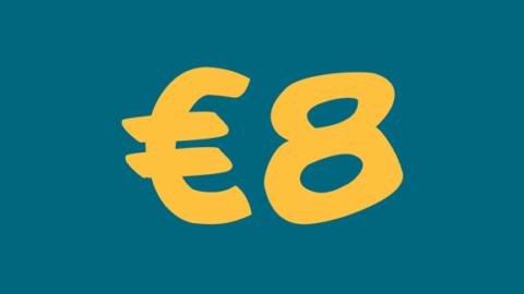 €8 di extra sconto