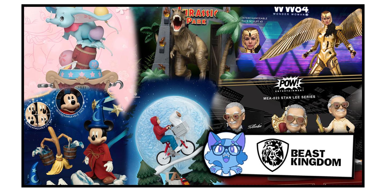 Beast Kingdom: le novità di febbraio in prenotazione