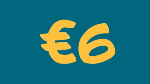 €6 di extra sconto