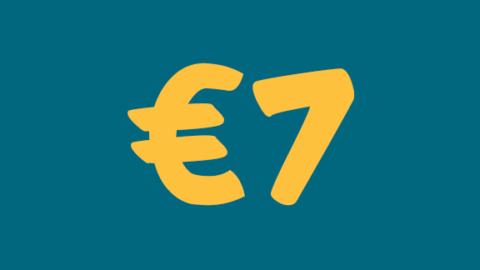 €7 di extra sconto