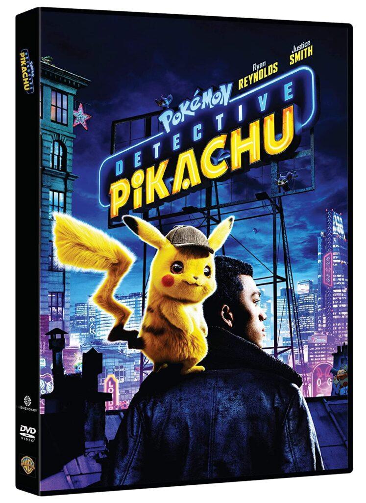 Detective Pikachu in DVD