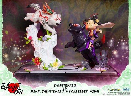 Okamiden Chibiterasu Vs Dark Chibiterasu & Possessed Kuni (Limited Edition)