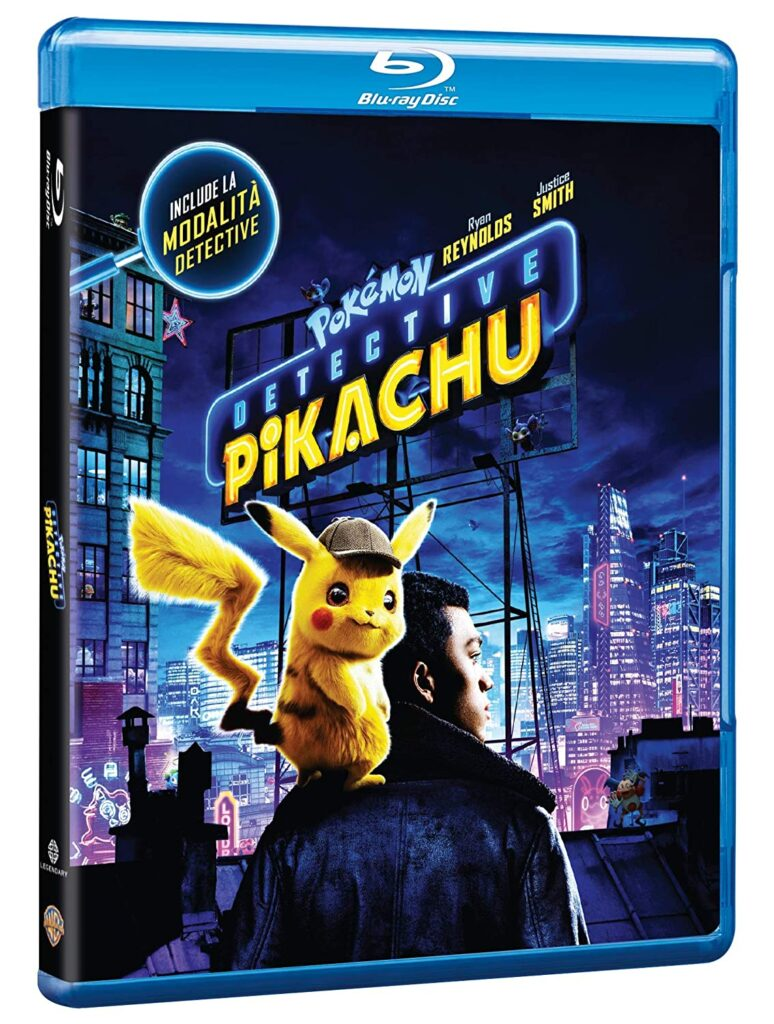 Detective Pikachu in Blu-ray