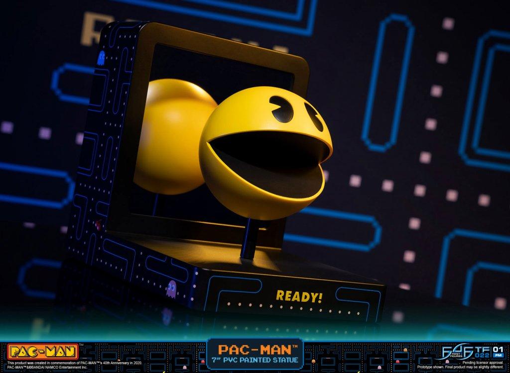 Una figure di PAC-MAN completa di labirinto in prenotazione su Multiplayer