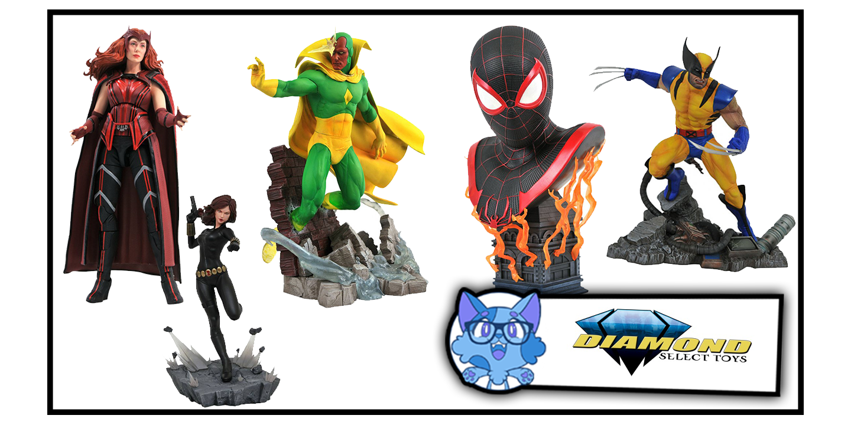 Diamond Select: le novità Marvel in prenotazione