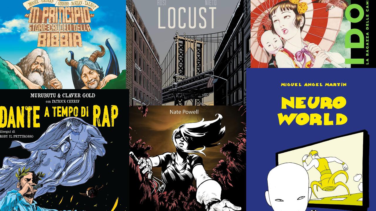 Le uscite dei fumetti di giugno