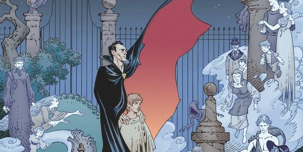 The Graveyard book: cimiteri ed atmosfere misteriose per un Pinocchio in salsa dark nella graphic novel di Neil Gaiman e P. Craig Russell