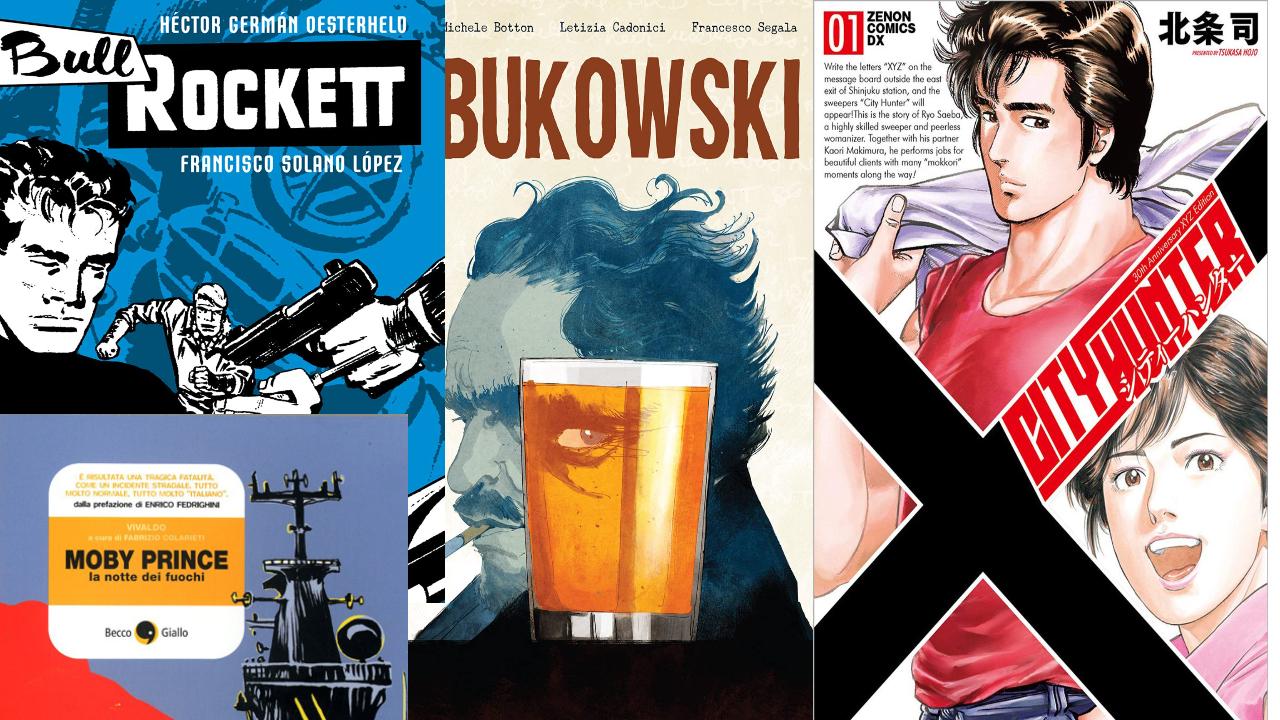 Le uscite dei fumetti di agosto