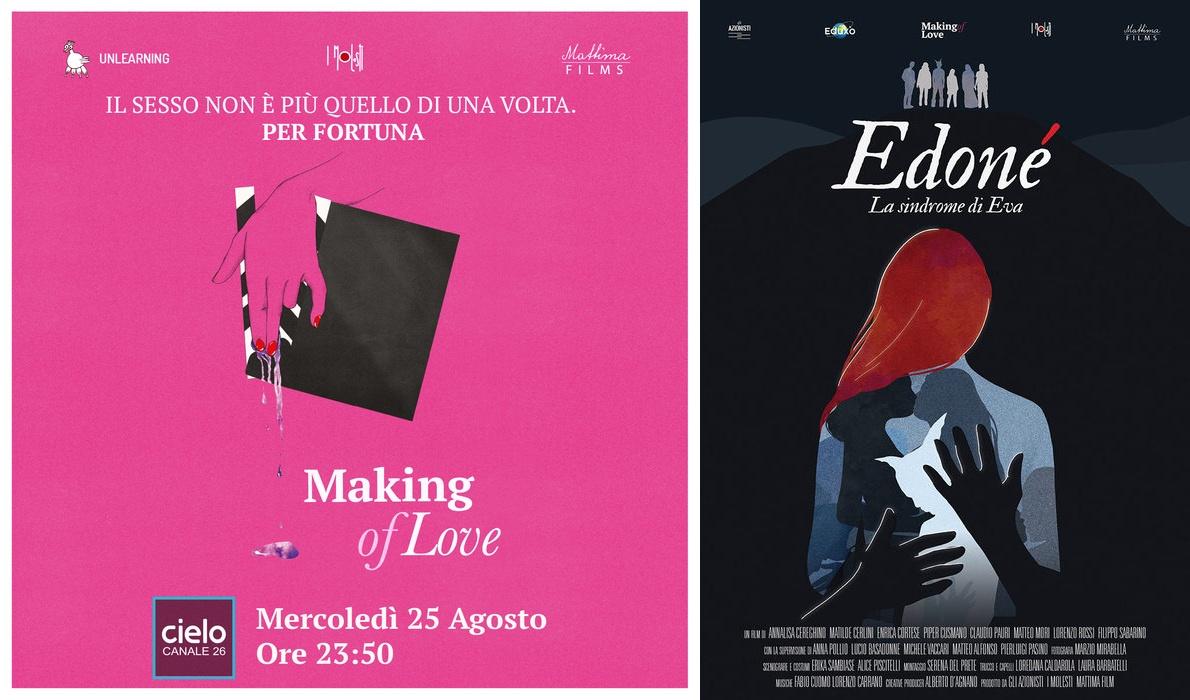 Arriva in TV su Cielo: Edoné - La sindrome di Eva, il film della terza rivoluzione sessuale