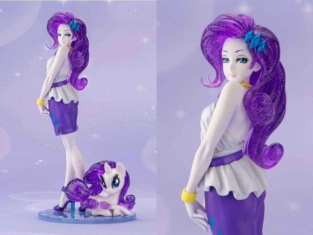 Rarity di My Little Pony: in arrivo la glitteratissima figure in versione umana e pony