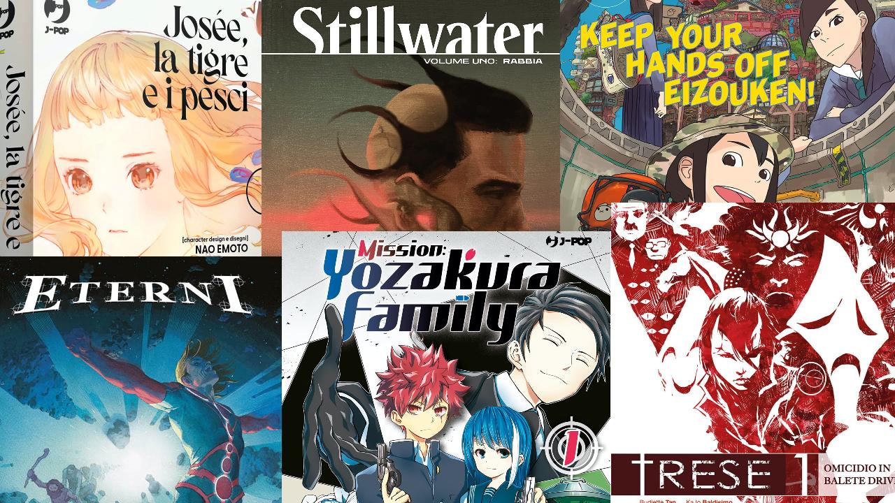 Le uscite dei fumetti di settembre