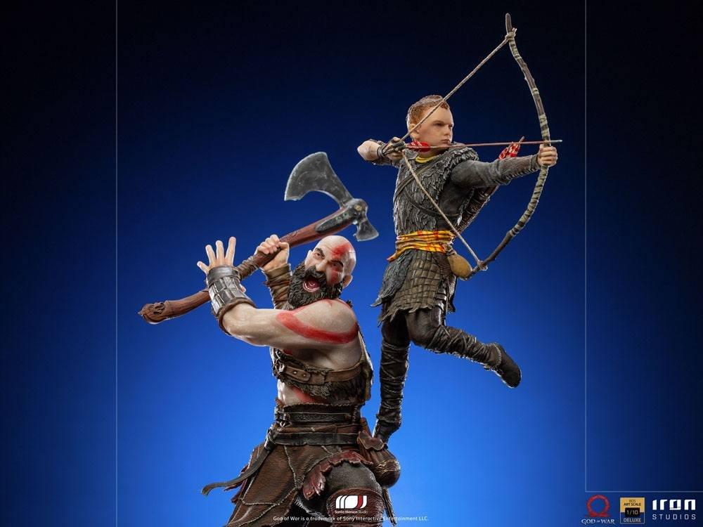 Kratos e Atreus protagonisti di una bellissima statua in edizione limitata in preordine